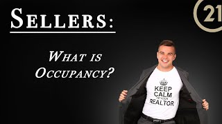 Sellers: What is Occupancy?