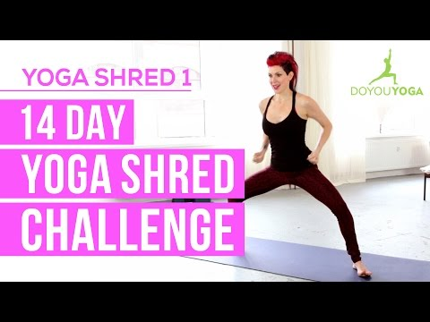 The 14 Day Yoga Shred Challenge with Sadie Nardini