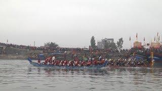 Tin Tức 24h: Hội đua thuyền truyền thống đầu năm ở Nghệ An