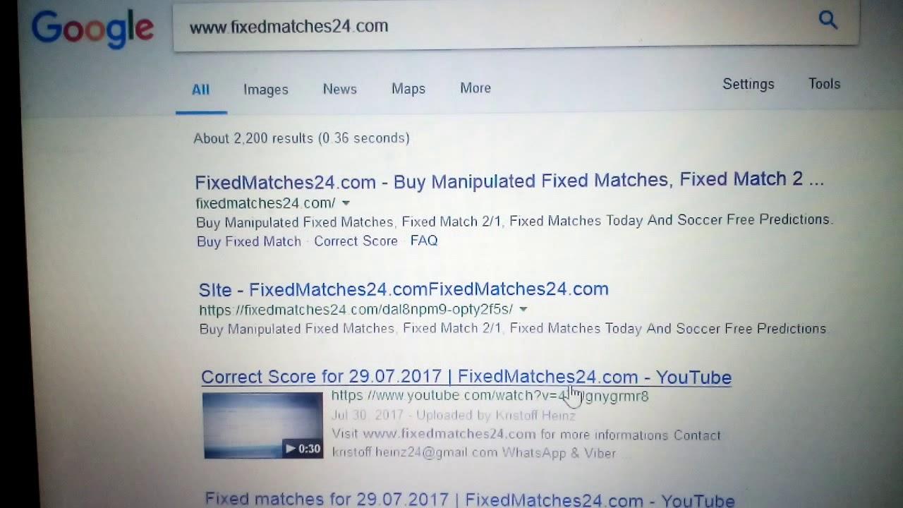 Buy Correct ScoreFixedMatches24 com