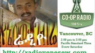 The Amhara Bantustan V. Governer Calls Amharas Chauvinists: Radio Yenesew Ethiopia Feb 8 2014