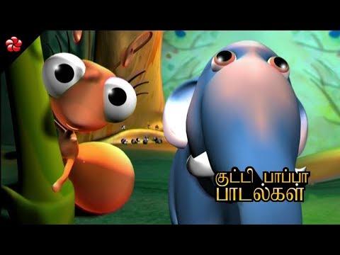 Cutest Nursery Rhymes of Pattampoochi ★Folk songs and ...