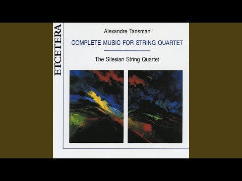 String quartet No. 4 (1935) ; Lento, allegro deciso