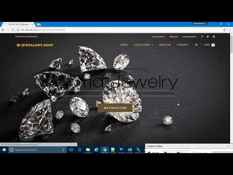 Jewellery shop ecommerce script