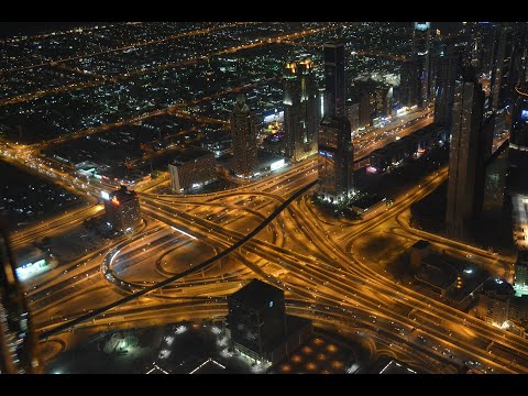 Rush Hour Traffic Jam at Shk. Zayed Road, Dubai