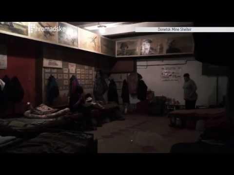 Living In A Donetsk Bomb Shelter