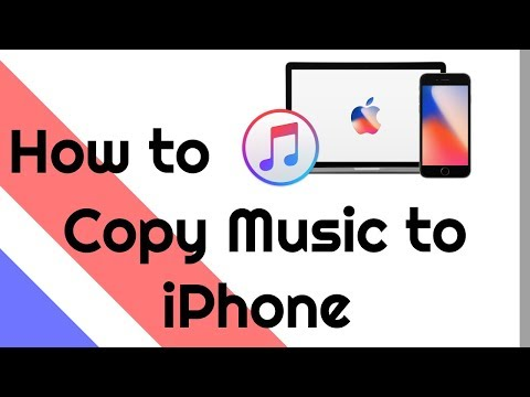 How to Copy Songs / Music files to iPhone using iTunes?