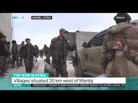 The War in Syria: A tense calm in place in Manbij