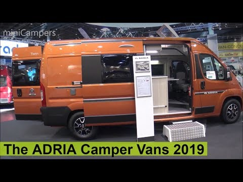 The 2019 ADRIA Camper Vans