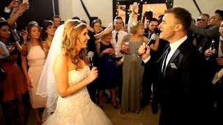 Gary Barlow surprises Bride on her Wedding Day! - New!