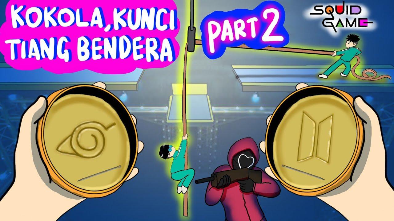 #bukanmaen 😎 SAAT HANTU CANTIK MAIN DI FINAL SQUID GAME 😱#squidgame #gaming #kartunlucu