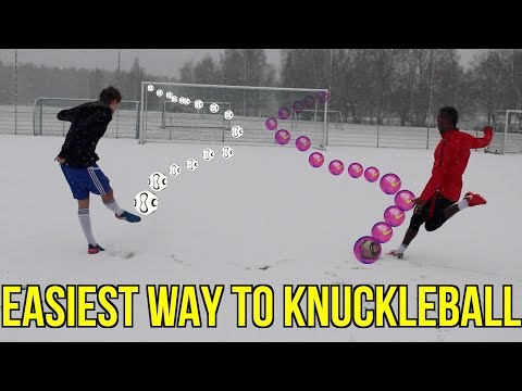 THE PERFECT KNUCKLEBALL - FREE KICK - TUTORIAL