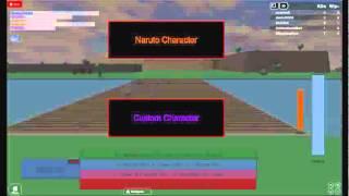 gameplay naruto roblox