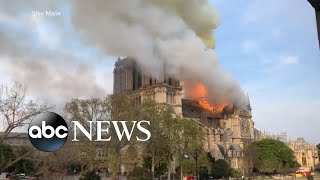 Notre Dame Cathedral inferno: 'It was heartbreaking to watch'