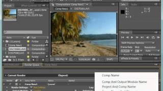 Операция оцифровки видео фильма в Adobe After Effects CS4
