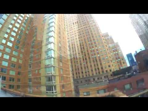 My Rooftop-Midtown Manhattan, Hell's Kitchen-NYC (Music by Snow Patrol,