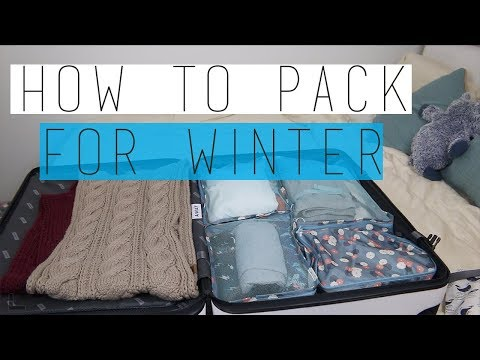 How To Pack For A Winter Trip | Away Travel | ORGANIZED AND EASY