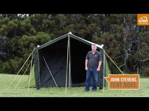 Kiwi Camping Kakapo 8 Canvas Tent - Key Features