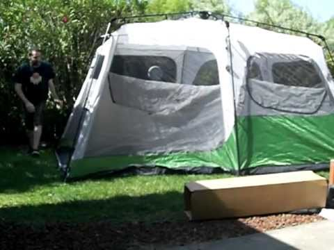Coleman Instant Tent - 9 Person & Coleman Instant Tent - 9 Person - YouTube