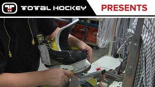 How the CCM Super Tacks Skates are Made // CCM Pro Skate Factory // Montreal