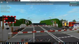 ROBLOX Swinderby Station Level Crossing (26/08/16)