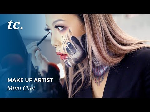 Mimi Choi Brings Fear to Life with Her Makeup Artistry