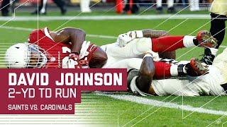 David Johnson Does It All on TD Drive! | Saints vs. Cardinals | NFL Week 15 Highlights