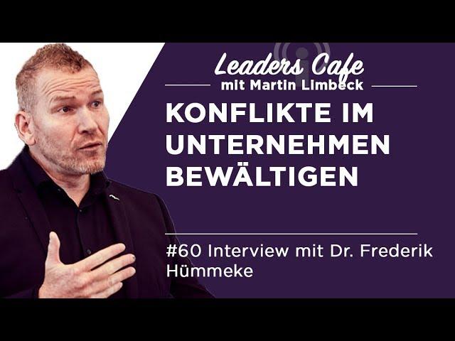 Interview zum Thema Konflikt in Unternehmen mit Handling SHIT