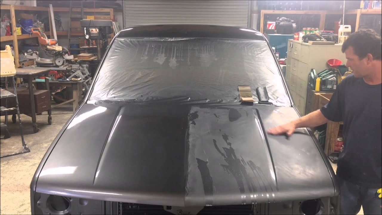 What Do I Need To Paint A Car Hood