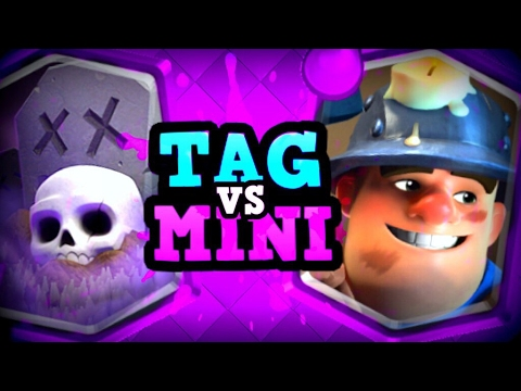 PRO vs PRO :: Tag vs Miniminter :: A New Dynasty!? :: Clash Royale