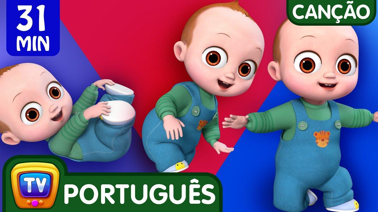 Canção dos primeiros passos do bebê (Baby's First Steps Song)   ChuChu TV Canções Coleção