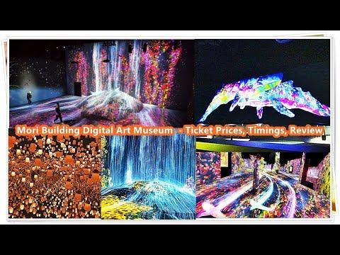 Mori Building Digital Art Museum  - Ticket Prices, Timings, Review