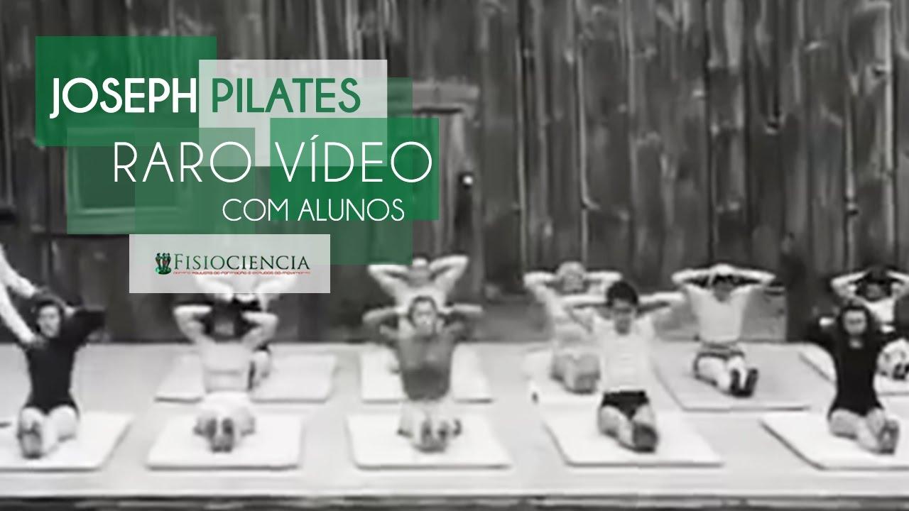 Joseph Pilates em Raro vídeo dando Aula para Alunos