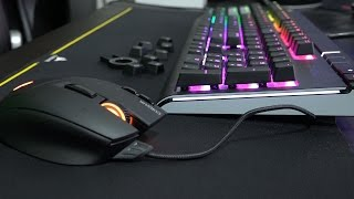 Corsair Strafe RGB Cherry MX Silent Review!