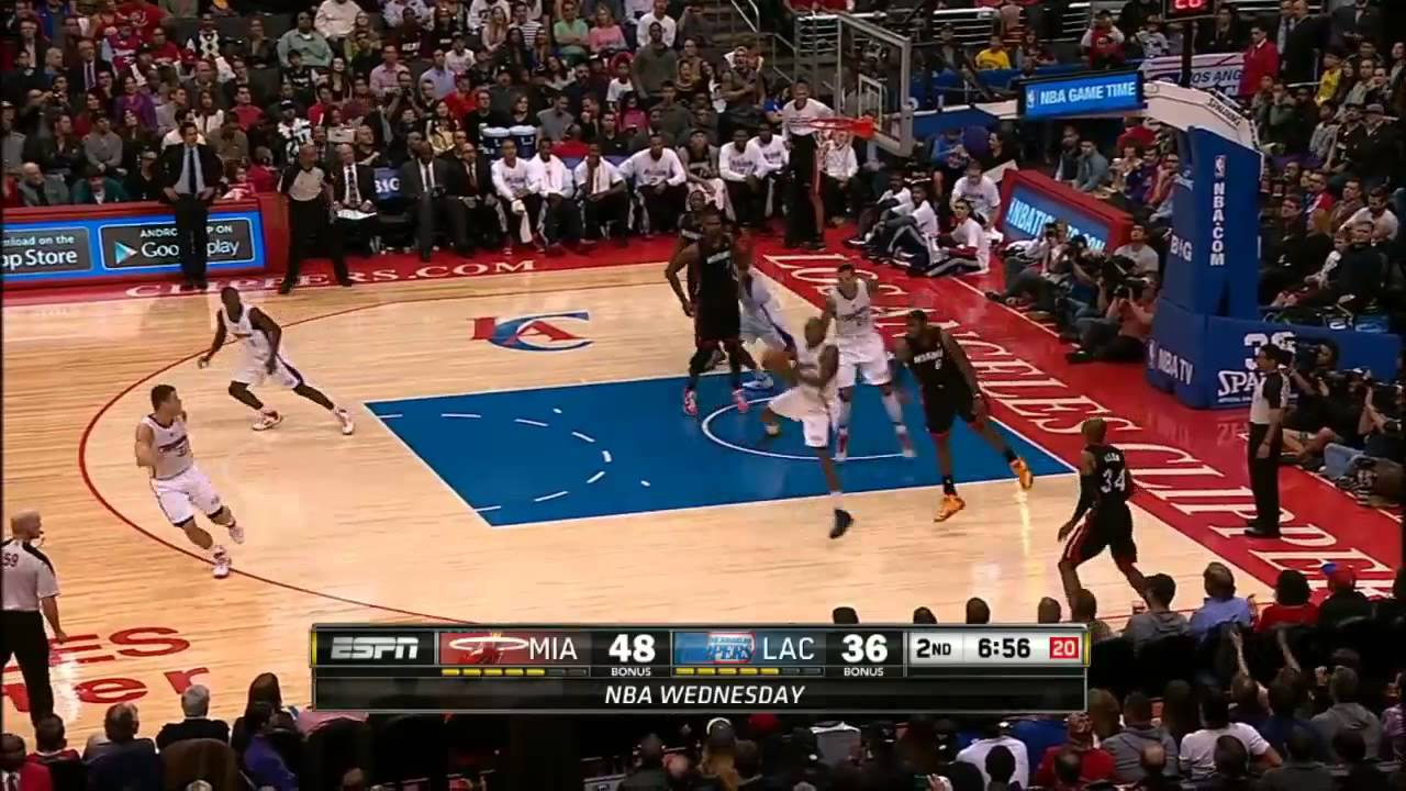 Dunk Contest 2014 - LeBron James vs Blake Griffin - YouTube  Blake