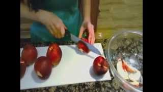 Cooking In With Joycelyne Ep. 1 How To Make A Nectarine Cobbler