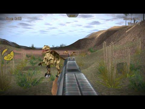 carnivores dinosaur hunter carnotaurus game android - YouTube