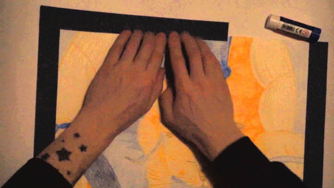Мастер-класс по изготовлению паспарту своими руками