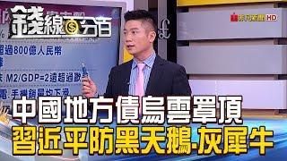 【錢線百分百】20180122精彩片段1《中國地方債烏雲罩頂 習近平籲防黑天鵝.灰犀牛!》