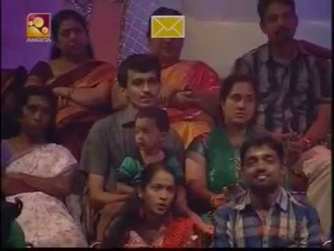 Amrita Tv -- SuperStar The Ultimate -- Adaludan Padalai Kettu _ Sanjay & Reshma