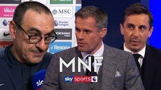 Gary Neville & Jamie Carragher react to Maurizio Sarri's comments on Eden Hazard's transfer!