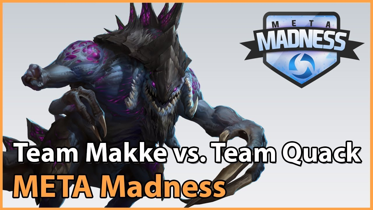 ► Team Makke vs. Team QuackNiix - META Madness Groupstage - Heroes of the Storm Esports