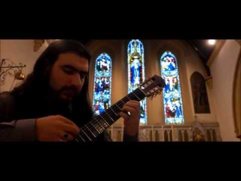 Juno Reactor Pistolero for solo classical guitar