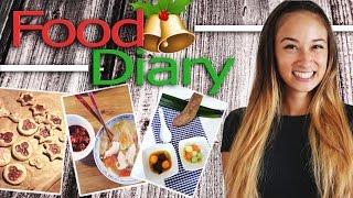 Food Diary Deutsch - Weihnachts Special - Habe ich zugenommen?