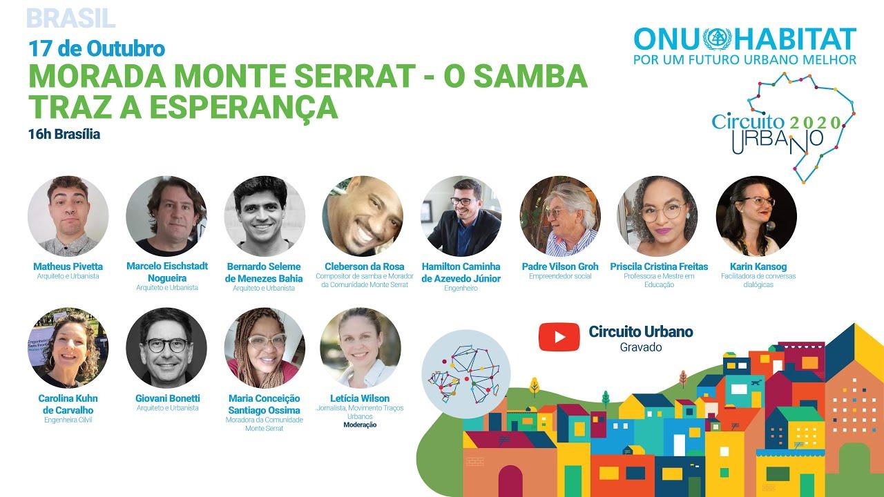 """Assista ao evento """"Morada Monte Serrat - o samba traz a esperança"""
