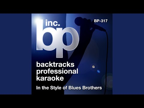 Soul Man Karaoke Instrumental Track In the Style of Blues Brothers