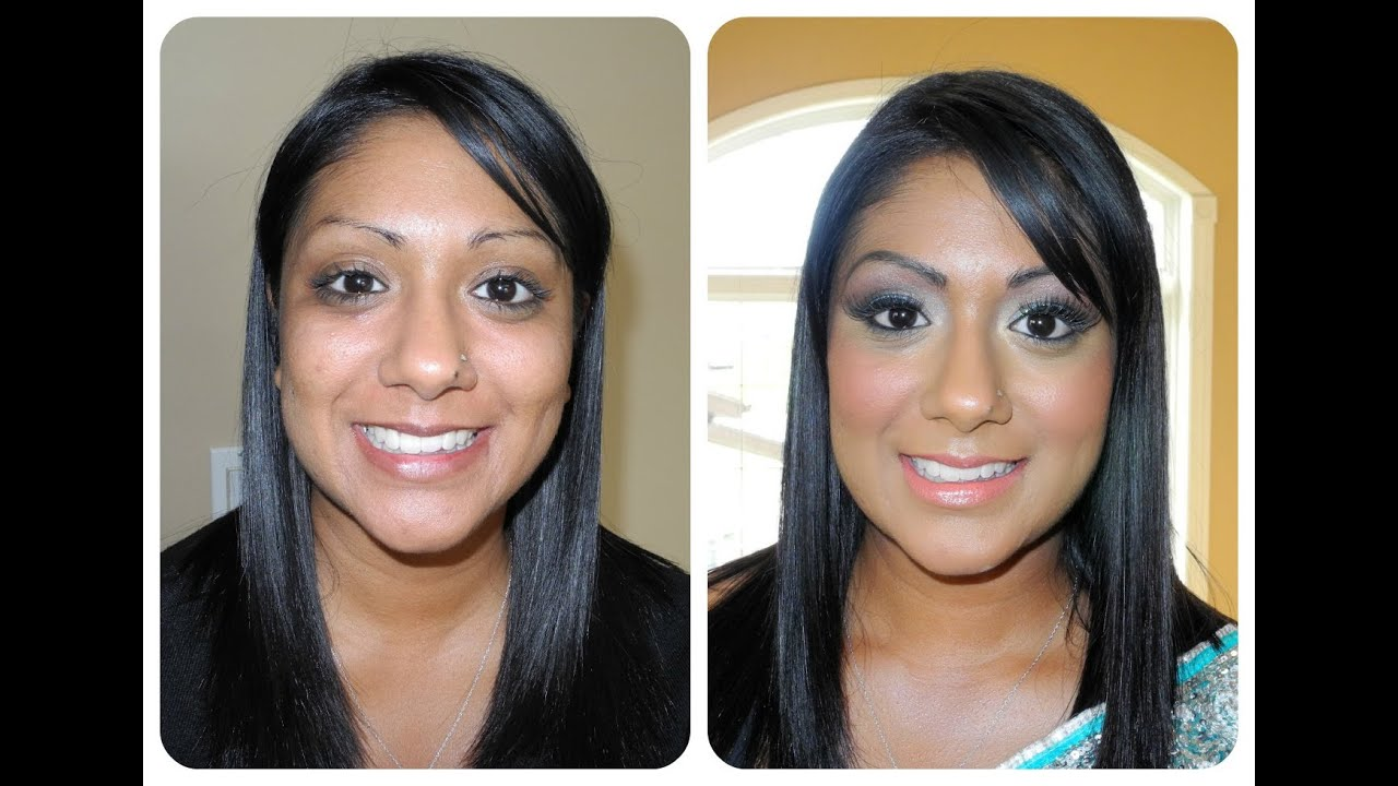 Makeup Makeover - Indian / Pakistani Dramatic Bridal (Lit Cosmetics &  Modern Basic)