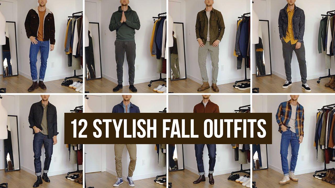 20 Stylish Men's Fall Outfits   Sustainable Autumn Fashion Inspiration