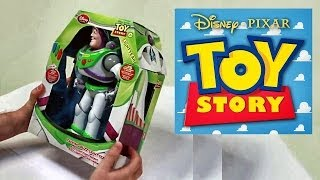 Toy Story Buzz Lightyear - Disney - Pixar - Giftset - Mattel Toy - Up - Surprise Toys
