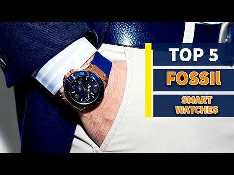 Top 5 - Best Fossil Smartwatches 2019 | Fossil Smart Watches | ►